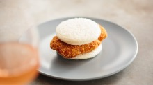 The sweetbread schnitty sanga: Small in size and big on impact, like Fleet.