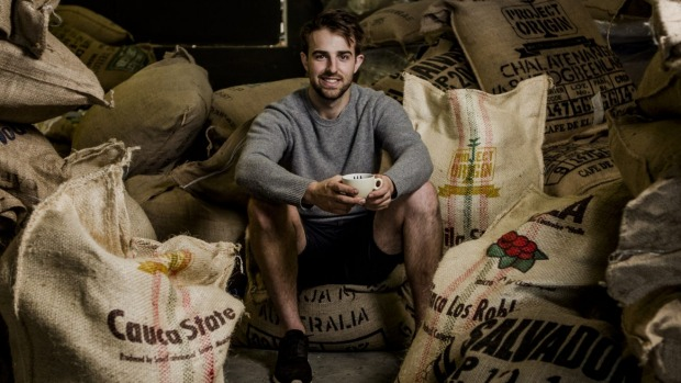 Back to back wins: Hugh Kelly also won the Australia Barista Championship last year.