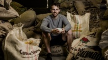 Hugh Kelly won the Australia Barista Championship two years in a row.