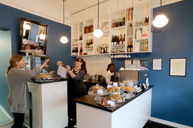 Tiny cafe: Our Kitchenette in Hawthorn.