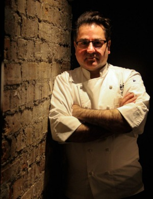 Chef Guy Grossi of Grossi Florentino eschews milk, preferring his dairy element in the form of parmigiano.