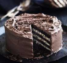 Neil Perry's chocolate and ricotta cake.