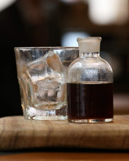Cold-drip coffee from Pablo and Rusty's at 161 Castlereagh Street.