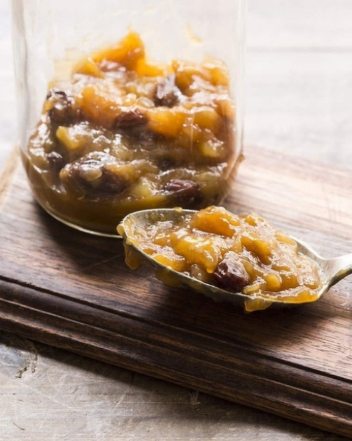 Green mango chutney is great served with cold meats and aged cheddar <a ...