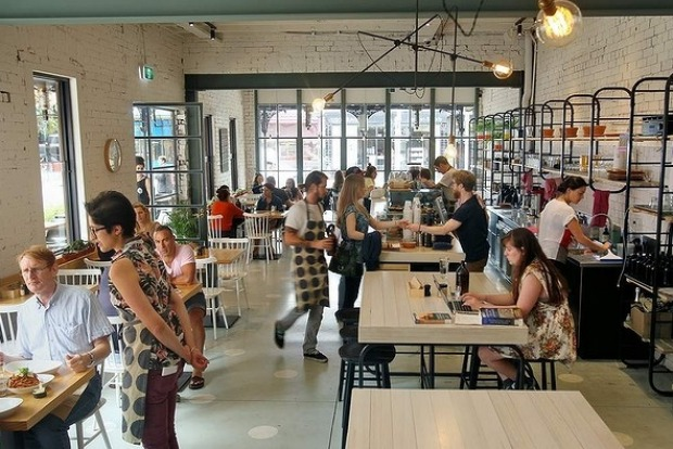 The menu at Barry in Northcote bursts with on-trend ingredients including coconut water, freekeh and tri-coloured ...