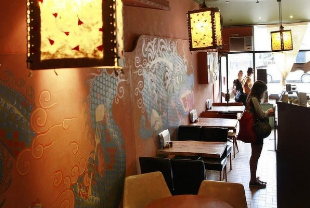 Vegetarian restaurant of the year Yong Green Food, Fitzroy.
