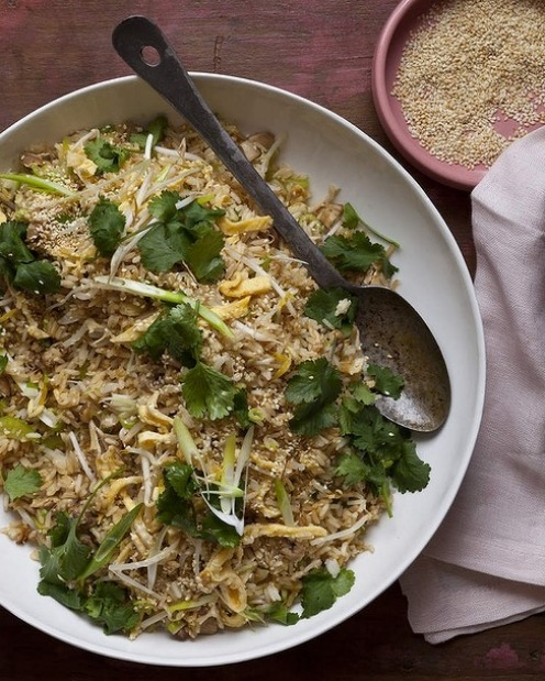 Karen Martini's fried rice with chicken, ginger and egg <a ...