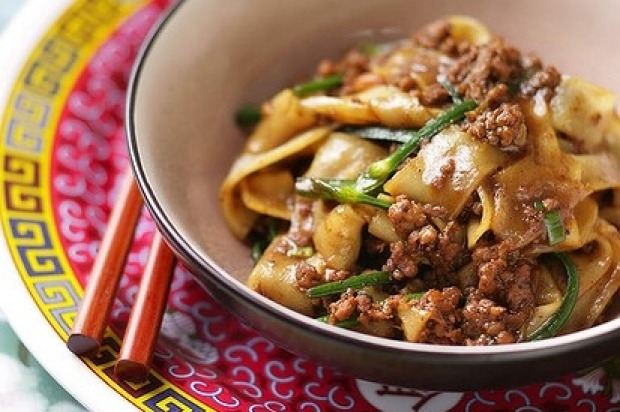 Brigitte Hafner's Sichuan spicy pork and noodles <a ...