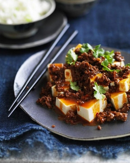 Textural and spicy: Hot beef and tofu <a ...