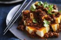 Textural and spicy Hot beef and tofu