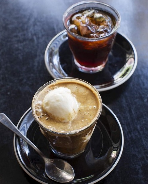 Affogato from Sample Coffee in Surry Hills
