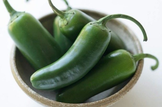 Five to nine centimetres long with a rounded end, the jalapeno is one of the world's most popular chillies.