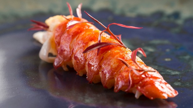 The menu at Orana features native ingredients such as yabby.
