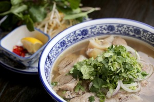 The pho served at  Hem 27 at Showgrounds Village in Flemington offers six different toppings