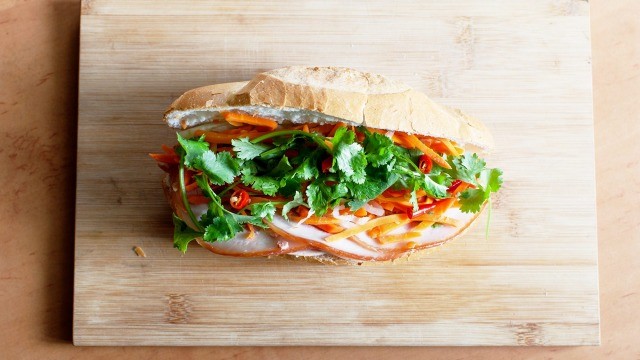 Bahn mi from Nhu Lan Richmond. Images by Kristoffer Paulsen.