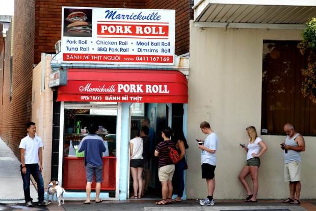 Marrickville Pork Roll: worth lining up for.