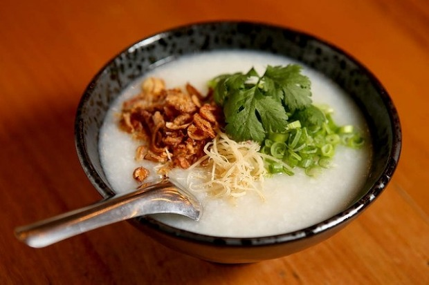 Congee at Lawyers, Guns and Money in the CBD.