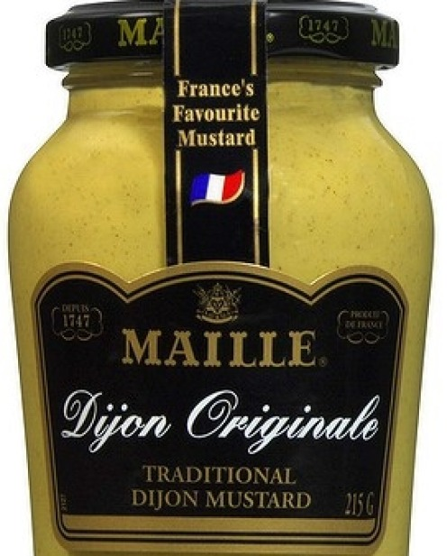 """7 The fridge staples: """" Maille dijon and grain mustard are important."""""""