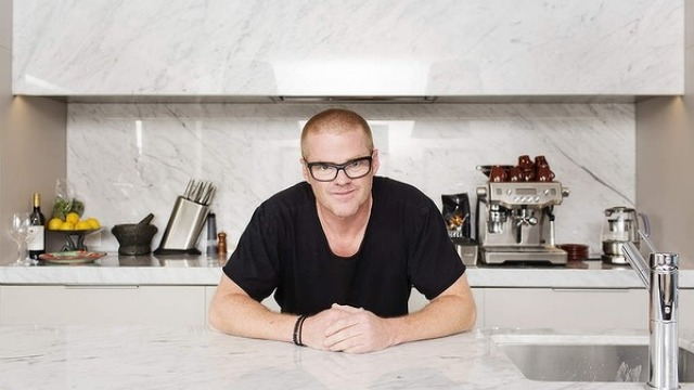 British celebrity chef Heston Blumenthal while in Sydney.