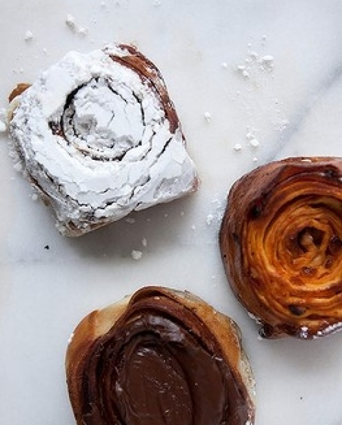 16 Cinnamon scrolls from Oregano Bakery, South Hurstville