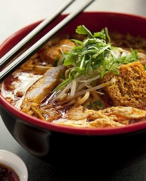 13 Chicken laksa at Malay Chinese Takeaway