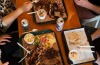 3 Meat plates at Bovine & Swine on Enmore Road, Enmore