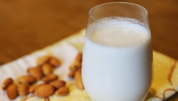 Plant-based milk alternatives, such as almond milk, are becoming more common.