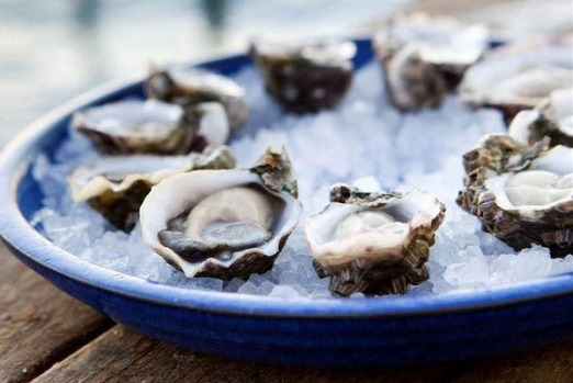 Pristine oysters from Coffin Bay, South Australia.