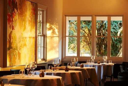 The dining room of Brae restaurant in Birregurra, Victoria.