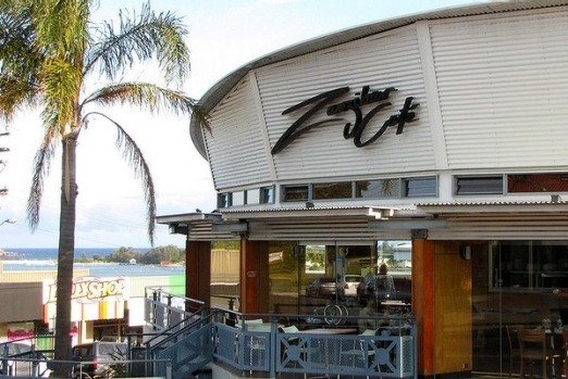 Zanzibar restaurant at Merimbula, New South Wales.
