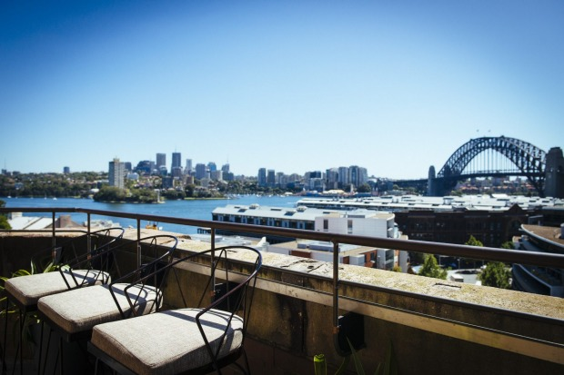 The postcard-like perspective from the Henry Deane bar is hard to beat.