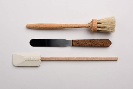5. Baking basics Essential tools of the trade: pastry brush for the final egg-wash glaze, a palette knife for perfect ...