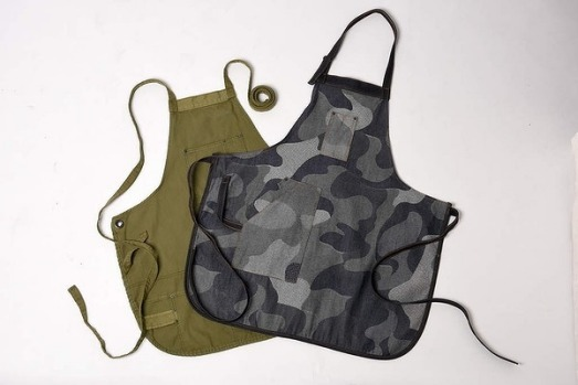 1. Kitchen wear Fashion for the kitchen is the ethos behind new Sydney label Worktones. The aprons are made using ...