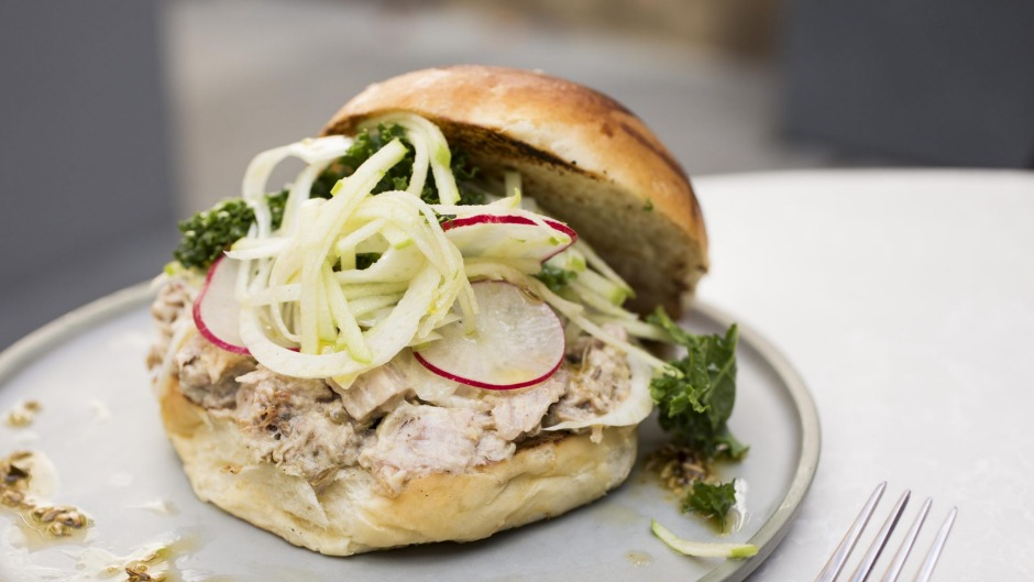 Henry Lee's turns it up to 11 with hefty dishes such as the Pork of Gibraltar roll with slow-roasted pork shoulder baked ...