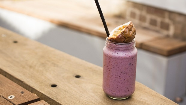 The strawberry, basil and balsamic smoothie.