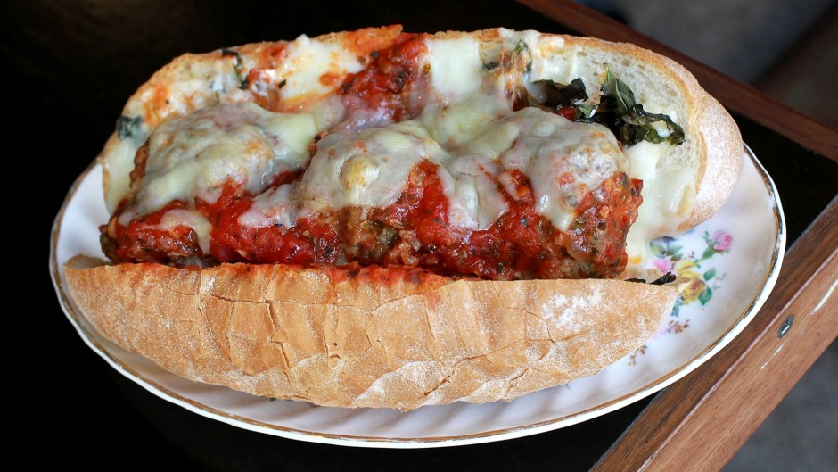 Is this Sydney's best meatball sub? Find it at Clementine's Cafe.