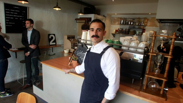 Clementine's Cafe owner, Eric Mendoza.