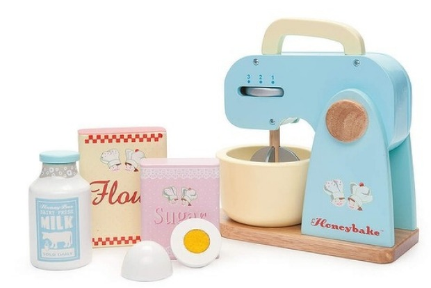 9. Nice Mix This wooden mixer is replete with detachable bowl and blade ? just like mum and dad's. $54.95, ...