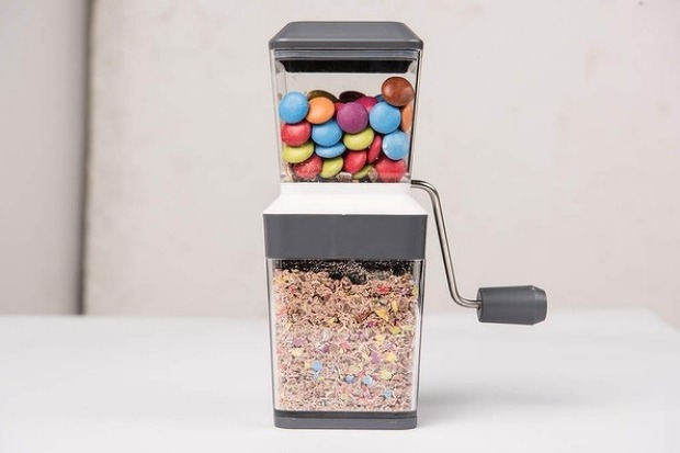 5. Good Grind Smarties, nuts, chocolate or cheese, there is not much this mini grinder won't slice and dice. Ideal for ...