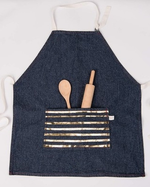 3. Keep it Clean Designed for the tiniest of chefs, this apron is great for playing house, and doubles as a bib when the ...