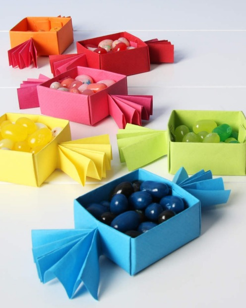 Colour-coated candy: If you have the time, then DIY is an easy way to inject colour. The Little Miss Craft blog has ...
