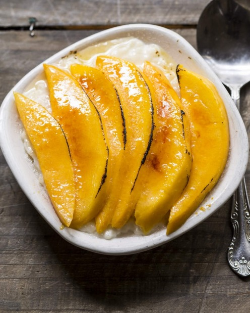 COCONUT MILK/CREAM: Frank Camorra's mango rice pudding brulee <a ...
