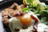 ANCHOVIES: Schnitzel Holstein topped with capers, anchovy and fried egg <a ...