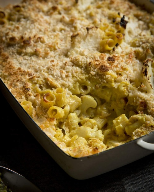 TUNA: Karen Martini's golden tubetti pasta bake with cauliflower and tuna <a ...