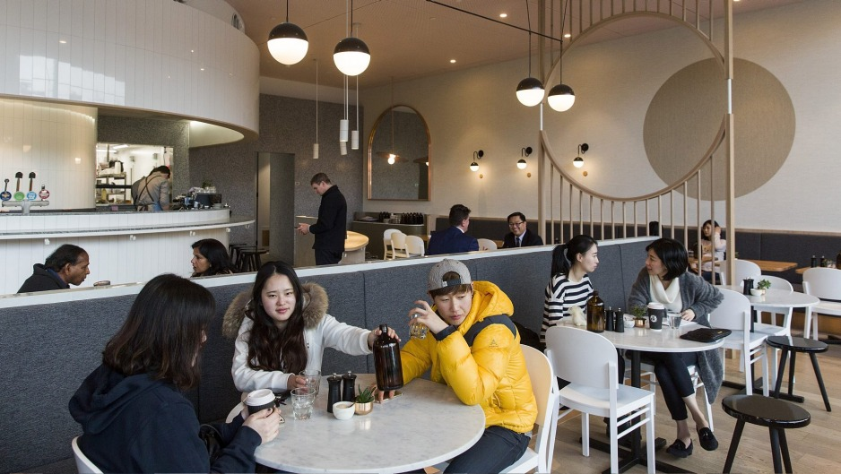 Deco vision: Inside the Penny Drop in Box Hill.