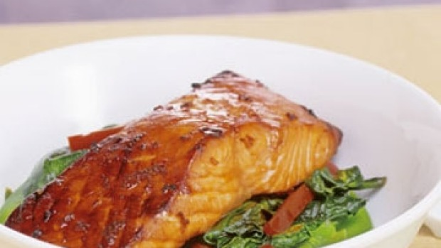 Soy-glazed salmon Recipe | Good Food