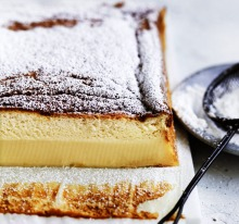 The most popular recipe on goodfood.com.au - Adam Liaw's Magical marmalade custard cake.