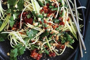 Neil Perry's green mango salad