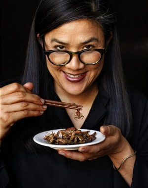 Kylie Kwong introduced insects to her restaurant menu.