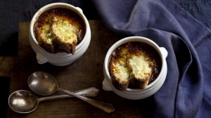 Karen Martini's French onion soup.